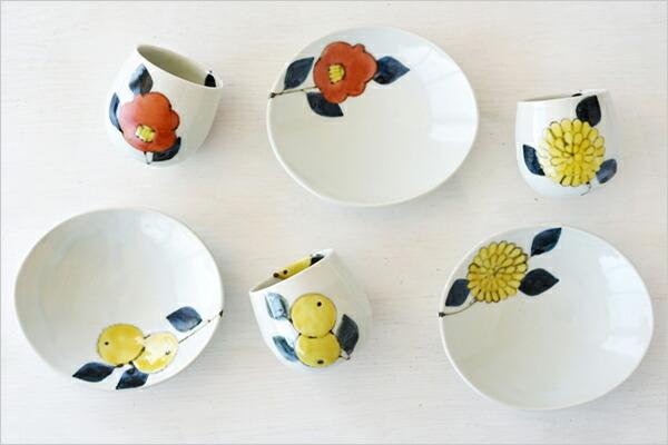 九谷青窯 色絵 楕円平鉢