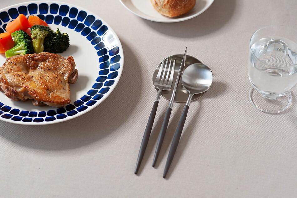 ゴア ブラック×シルバー カトラリー(クチポール) GOA Black Silver Cutlery(Cutipol)