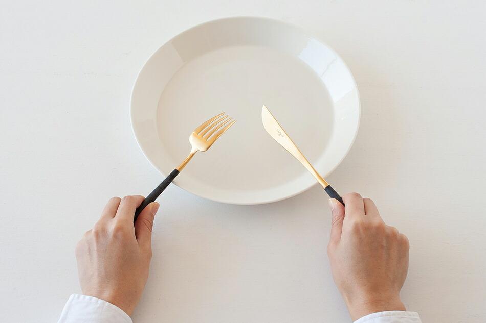 ゴア ブラック×ゴールド カトラリー(クチポール) GOA Black Gold Cutlery(Cutipol)