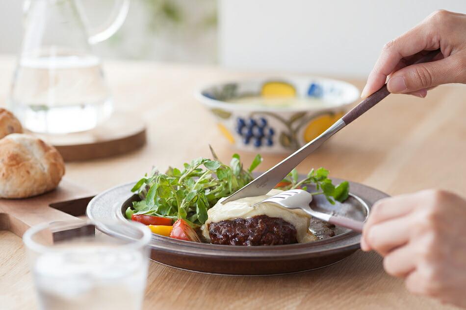 ゴア ブラウン×シルバー カトラリー(クチポール) GOA Brown Silver Cutlery(Cutipol)
