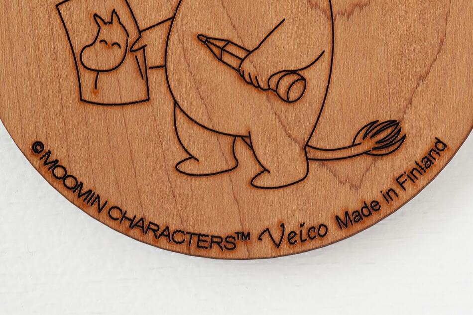 ムーミン 白樺コースター(ヴェイコ) Moomin Coaster(Veico)