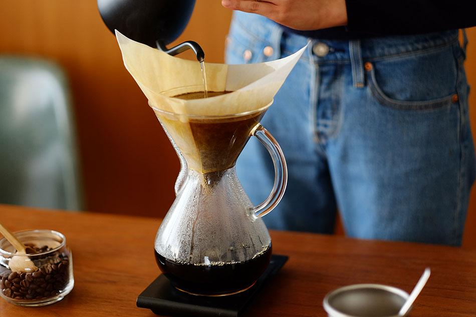 ガラスハンドル ハンドブロウ 3カップ(ケメックス) Coffee Maker 3Cup(CHEMEX)