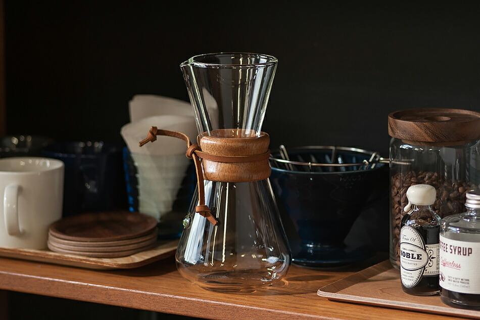 コーヒーメーカー ハンドブロウ 3カップ(ケメックス) Coffee Maker 3Cup(CHEMEX)