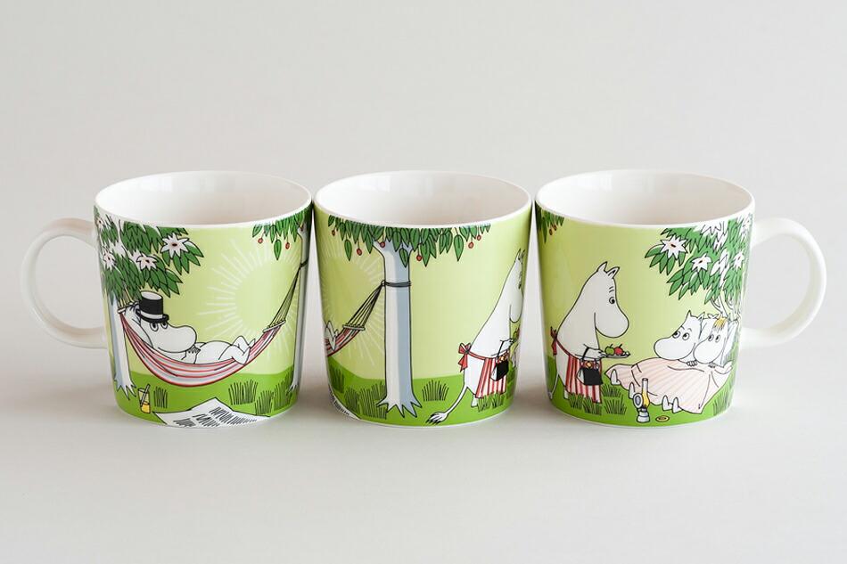 ムーミンマグ リラクシング moomin mug relaxing