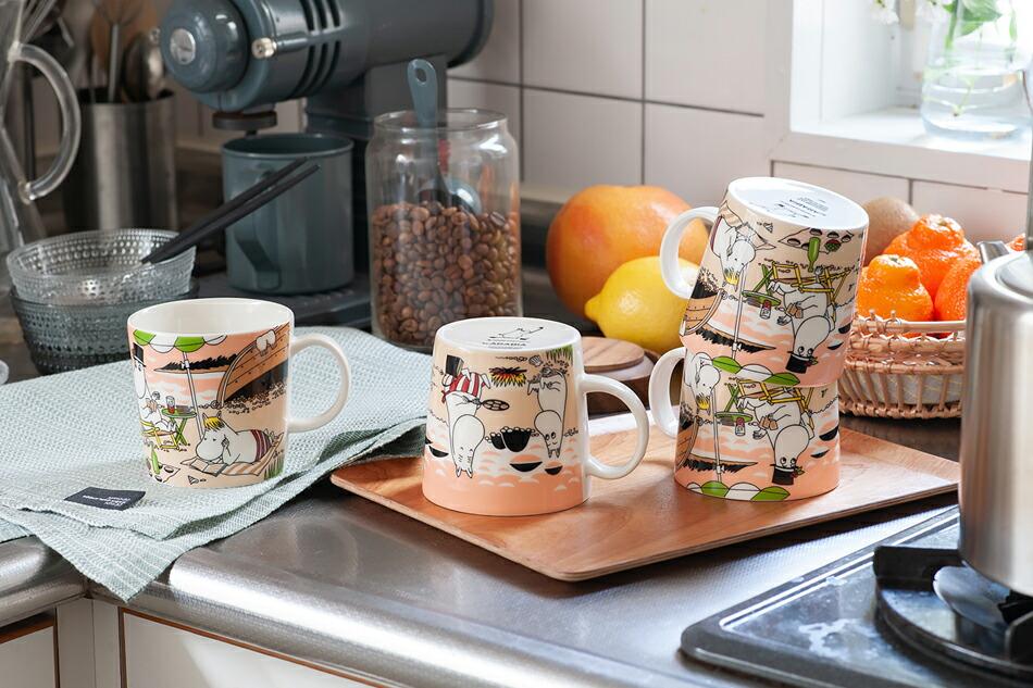 ムーミンマグ トゥギャザー moomin mug together(アラビア/ARABIA)