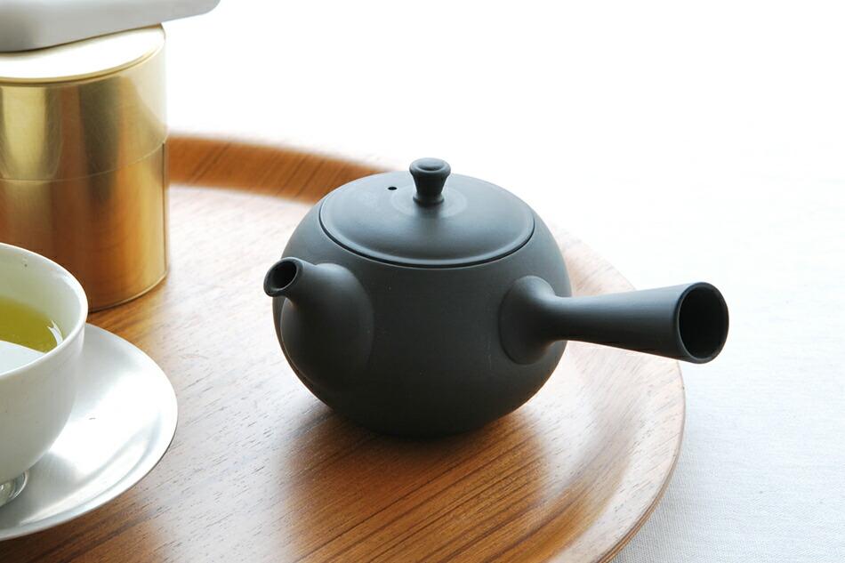 丸急須 横手(東屋) Tea Pot(AZUMAYA)