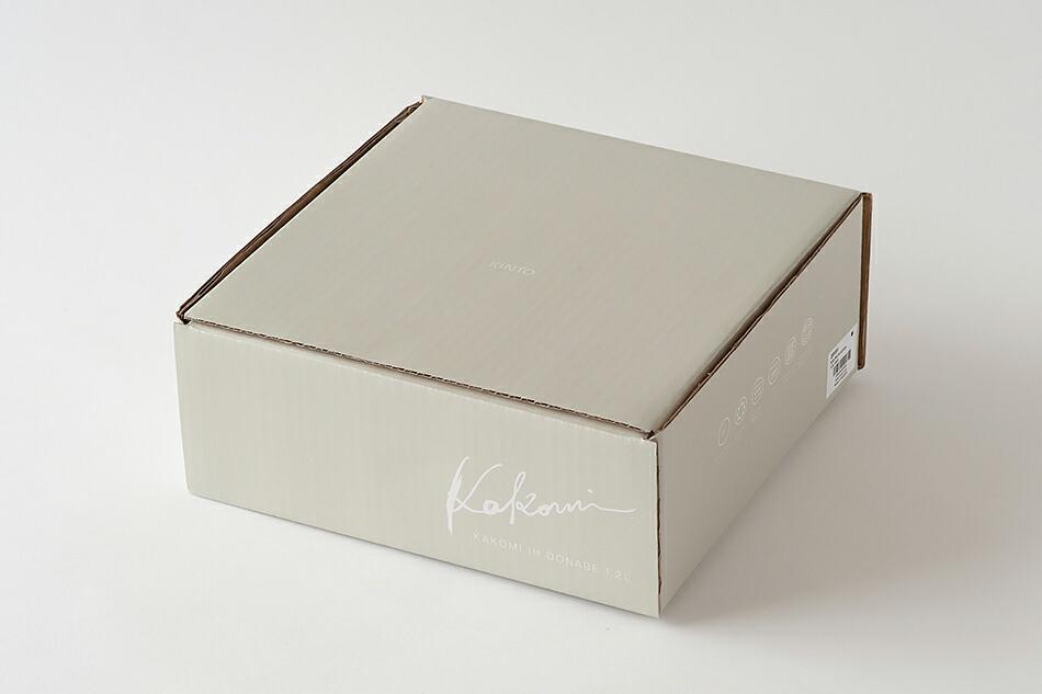 カコミ IH土鍋(キントー) KAKOMI IH DONABE(KINTO)