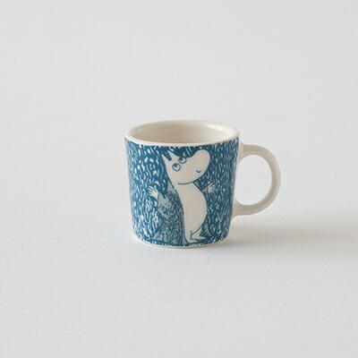 ムーミン ミニマグ  ライト スノーフォール(アラビア) Moomin Mini Mug Light Snowfall(ARABIA)