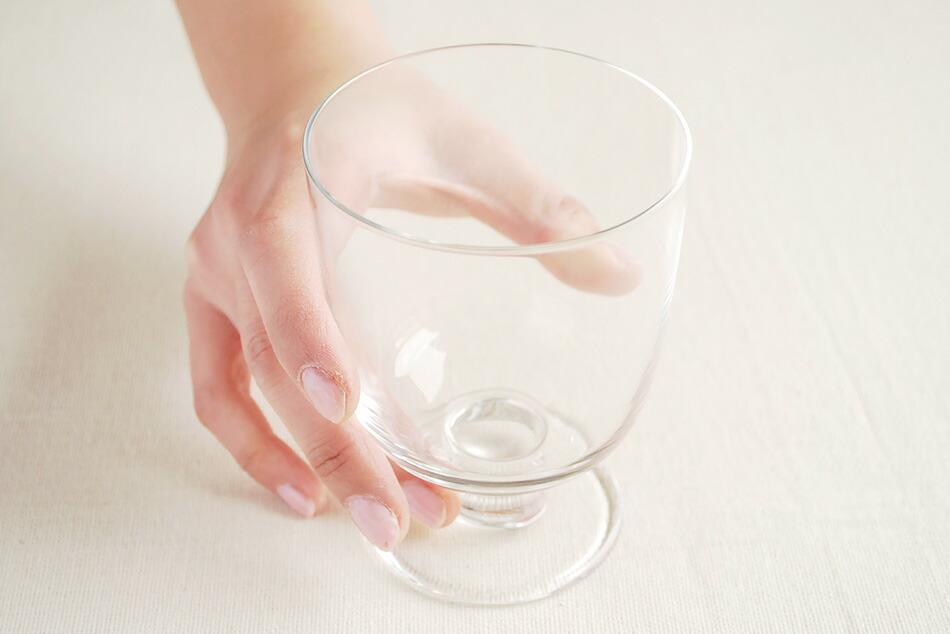 レンピ 脚付きグラス 350ml クリア マシン吹き(イッタラ) Lempi glass 350ml (iittala)
