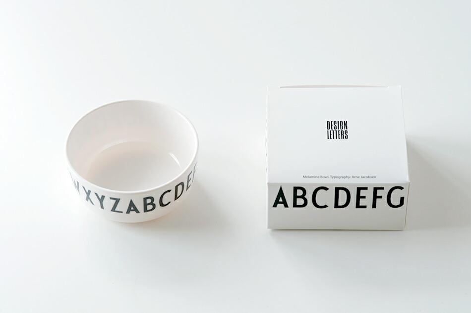 メラミン ボウル(デザインレターズ) Melamine Bowl(DESIGN LETTERS)