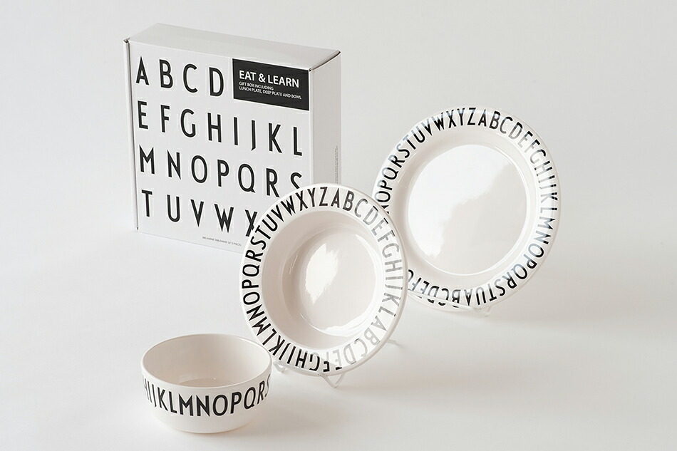 Eat&Lean ギフトセット(デザインレターズ) Eat&Lean Gift Set(DESIGN LETTERS)