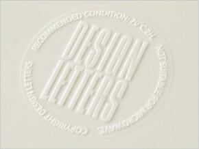 DESIGN LETTERS Arne Jacobsen Melamine Plate