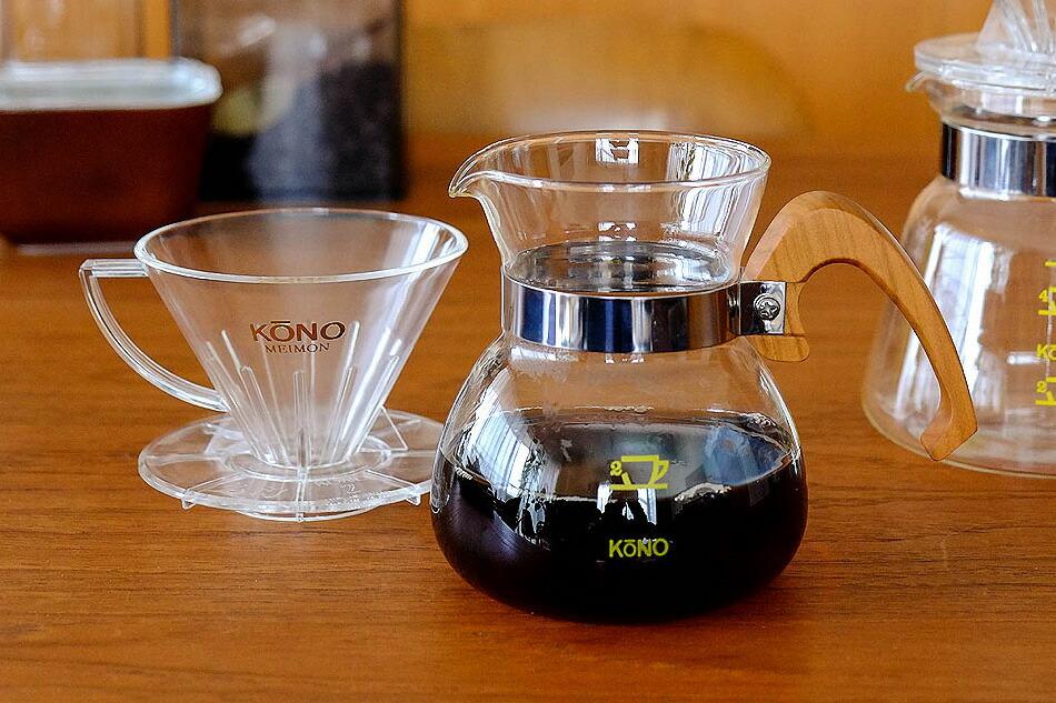 コーヒー ドリッパー セット1〜2人用(コーノ) coffee dripper set(kono)