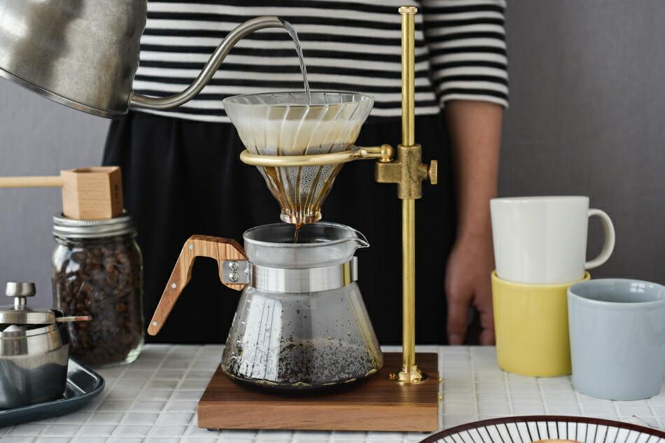 クラーク ポー オーバー スタンド(コーヒーレジストリー) Clerk pour over stand(The Coffee Registry)