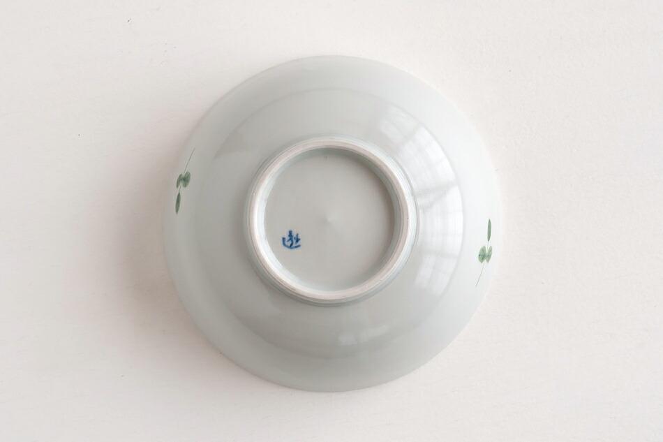 色絵幸せ花繋ぎ 4.5寸鉢(徳永遊心)