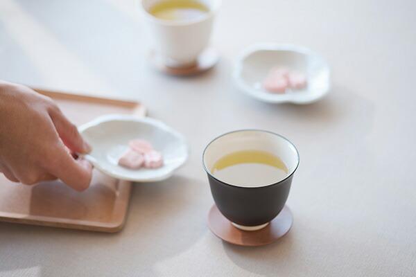 すすむ屋 茶店 大福茶