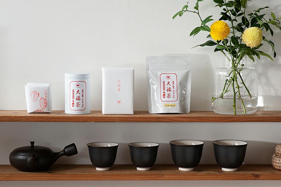 すすむ屋茶店 大福茶
