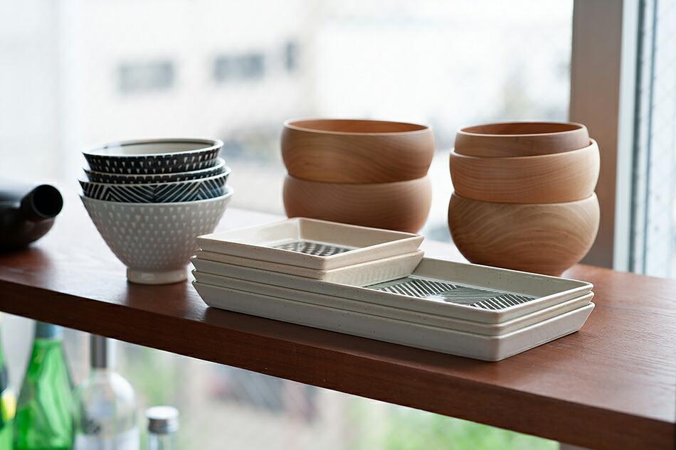 オリメ 角皿(アイユー) ORIME Square Plate(aiyu)