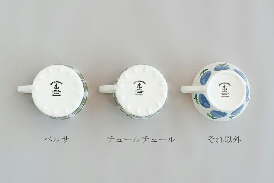 ティー カップ&ソーサー(グスタフスベリ) Tea cup and saucer(GUSTAVSBERG)