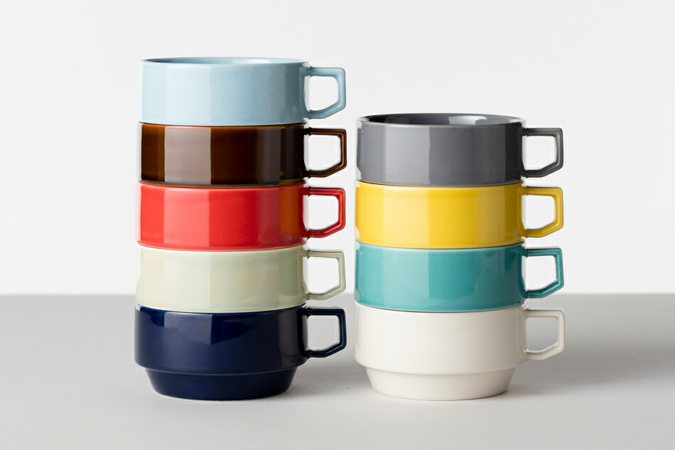 ブロックマグ スープ(ハサミ) Block Mug Soup(HASAMI)