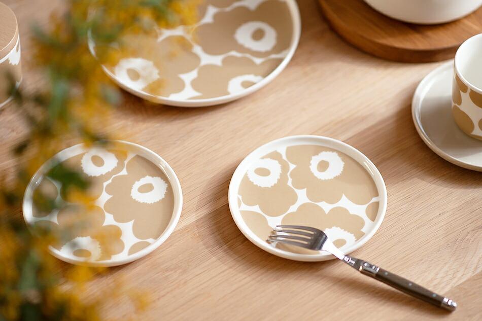 ラウンドプレート(マリメッコ) round plate