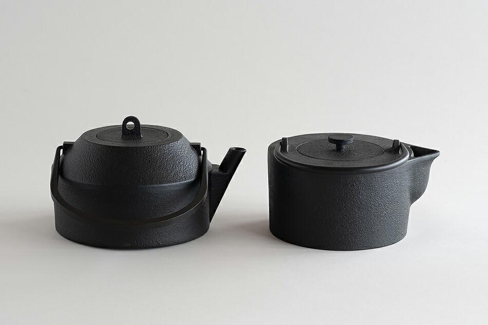 鉄瓶 iron kettle (イワテモ/iwatemo)南部鉄器