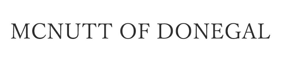 マクナット オブ ドニゴール/MCNUTT OF DONEGAL