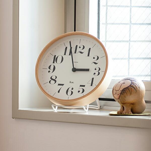リキクロック電波時計(レムノス) Riki Clock RC(Lemnos)
