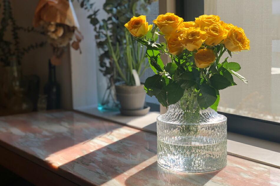 コロン ベース Mサイズ(スクルーフ) kolonn Vase(SKRUF)