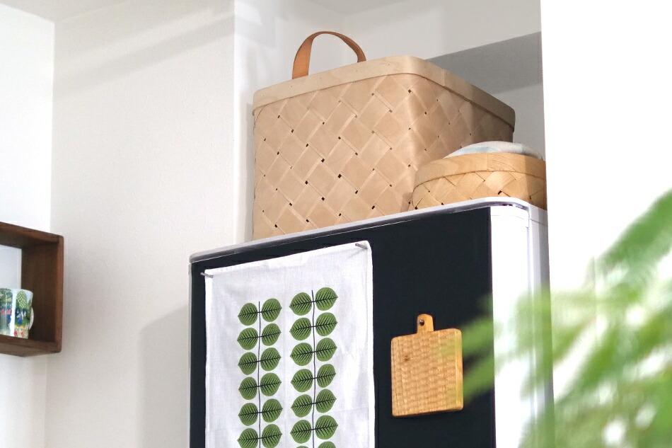 ラストゥ バスケット スクエア L(ベルソデザイン) Lastu Baskets(Verso Design)