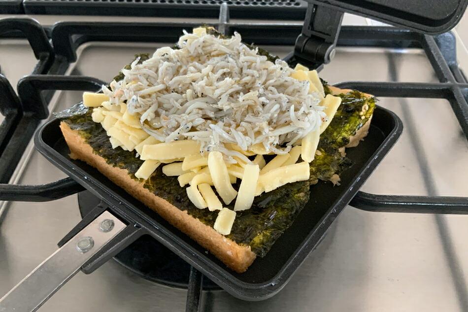 サンドイッチトースター シングル(バウルー) Sandwich Toaster(Baw Loo)