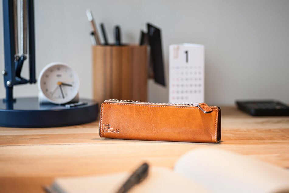 Craft Design Technology Leather Pen Case