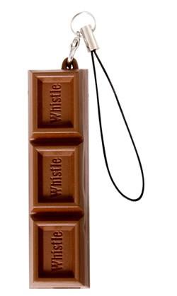 チョコ型チョコッとホイッスル