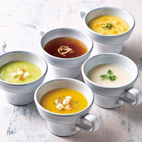北海道海鮮パスタ&野菜スープセット