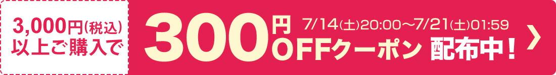 クーポン(300円OFF)