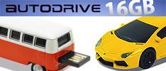 車型USB オートドライブ16GB