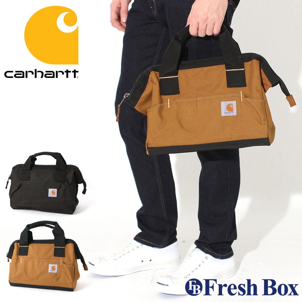 【送料無料】 カーハート バッグ 工具バッグ 撥水 160101B USAモデル|ブランド Carhartt|ツールバッグ 【W】