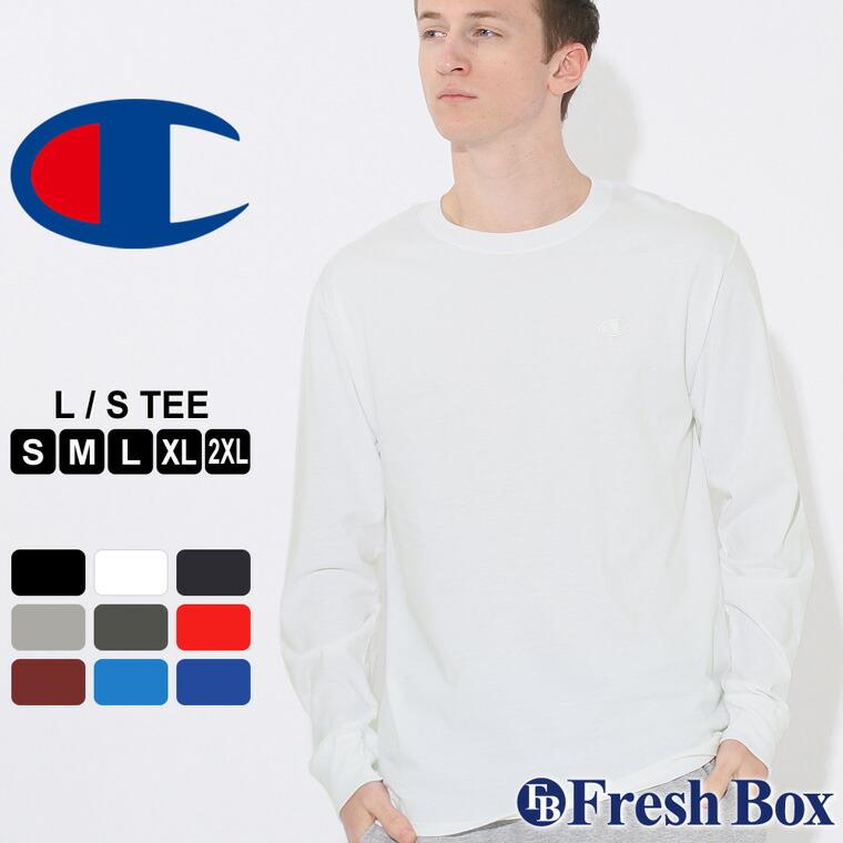 チャンピオン Tシャツ 長袖 メンズ 大きいサイズ USAモデル ブランド ロンT 長袖Tシャツ ロゴ アメカジ Champion