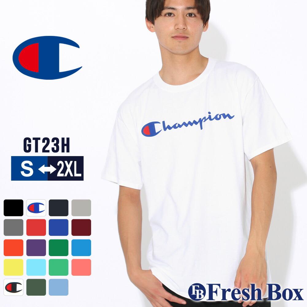 チャンピオン tシャツ メンズ 半袖 大きいサイズ メンズ tシャツ (USAモデル)