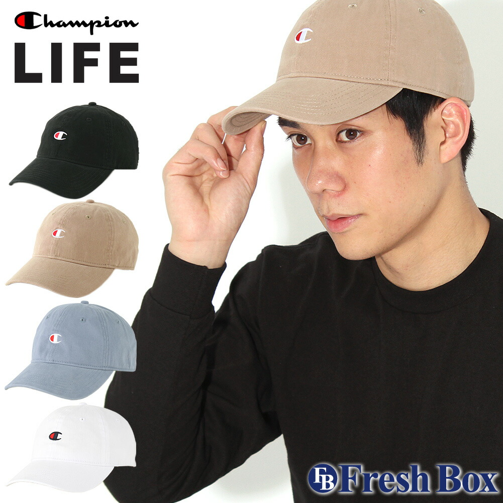 Champion チャンピオン キャップ メンズ アメカジ ブランド ローキャップ 帽子 [Champion Life US企画] (champion-h78458)
