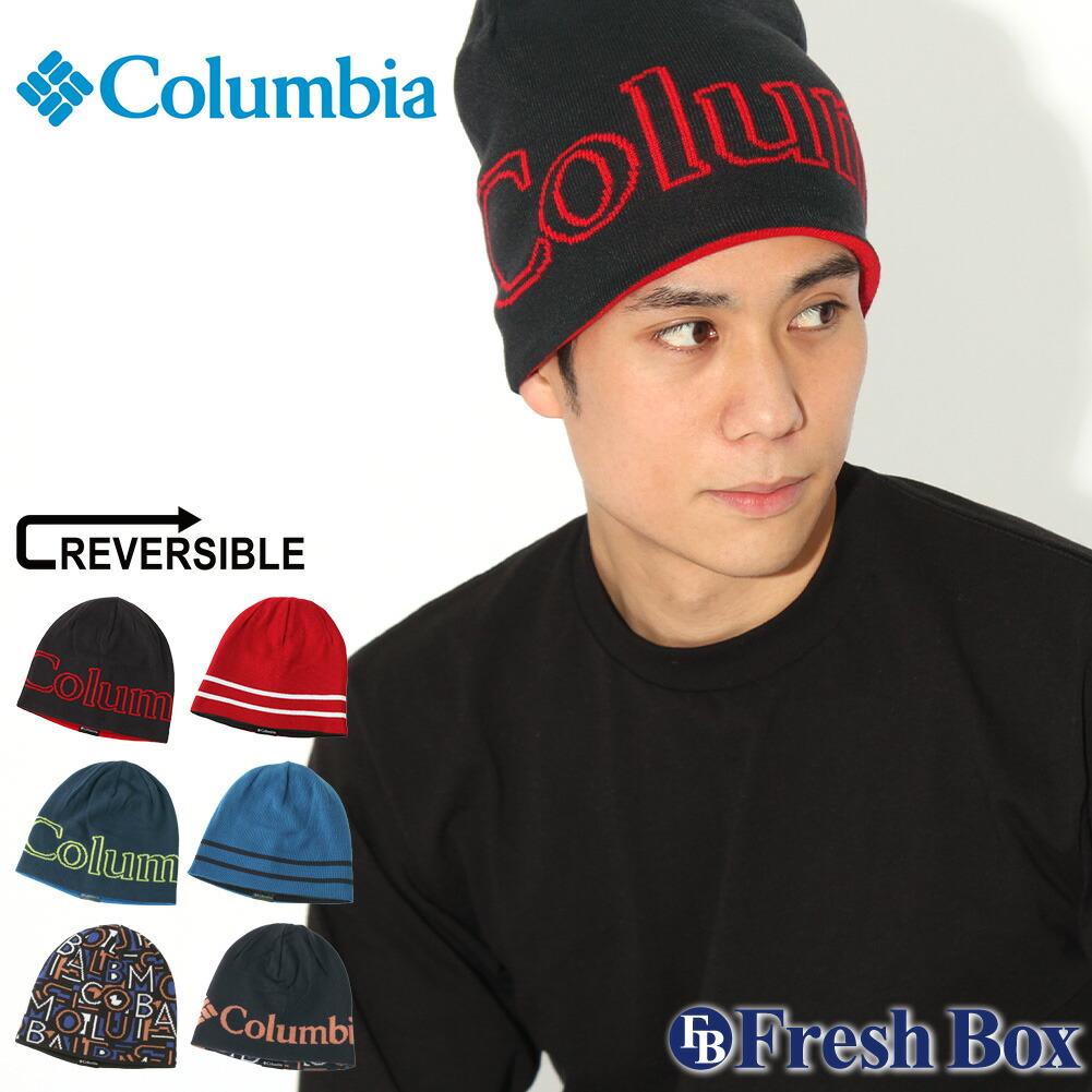 Columbia コロンビア ニット帽 メンズ ブランド ニットキャップ リバーシブル ビーニー 帽子 メンズ ニット キャップ [Unisex Urbanization Mix Beanie II] (columbia-1862661)