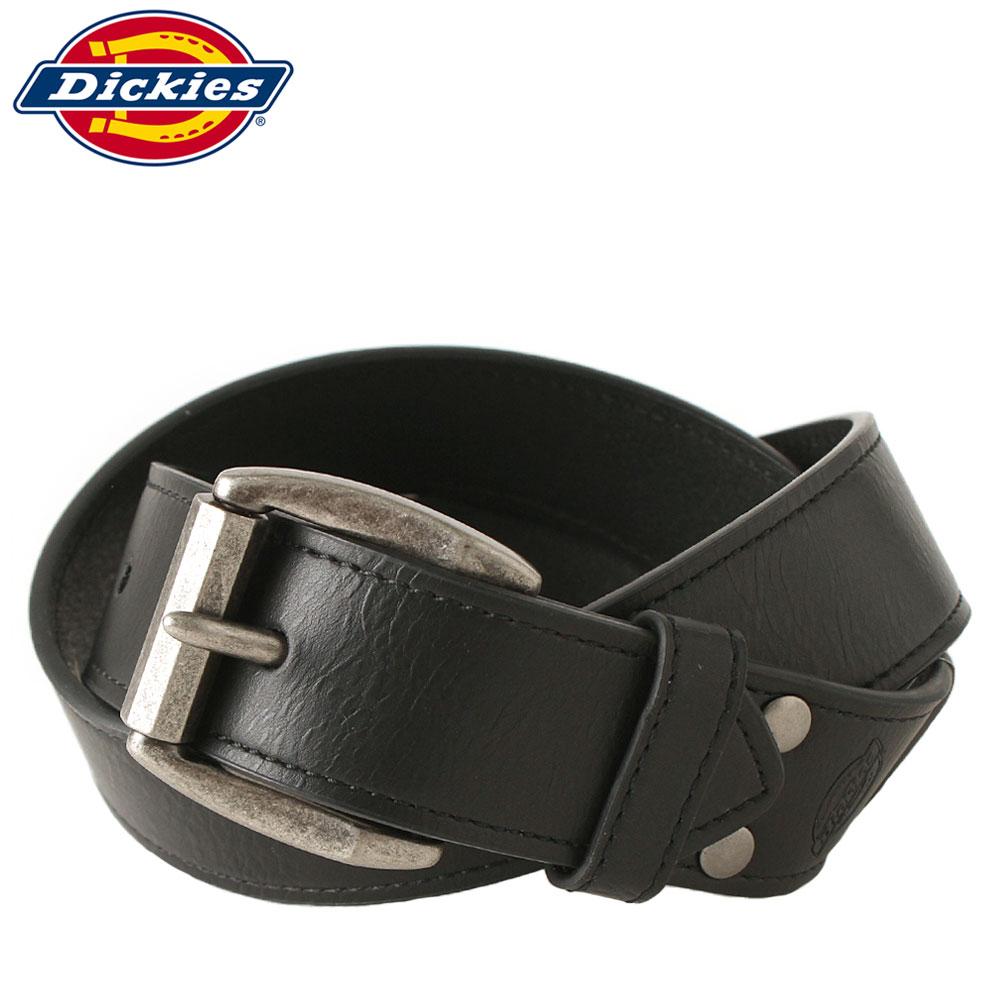 ディッキーズ ベルト 合皮 本革 メンズ 11DI020021|大きいサイズ USAモデル Dickies|シンセティックレザー 合成皮革 カジュアル ロング 【W】