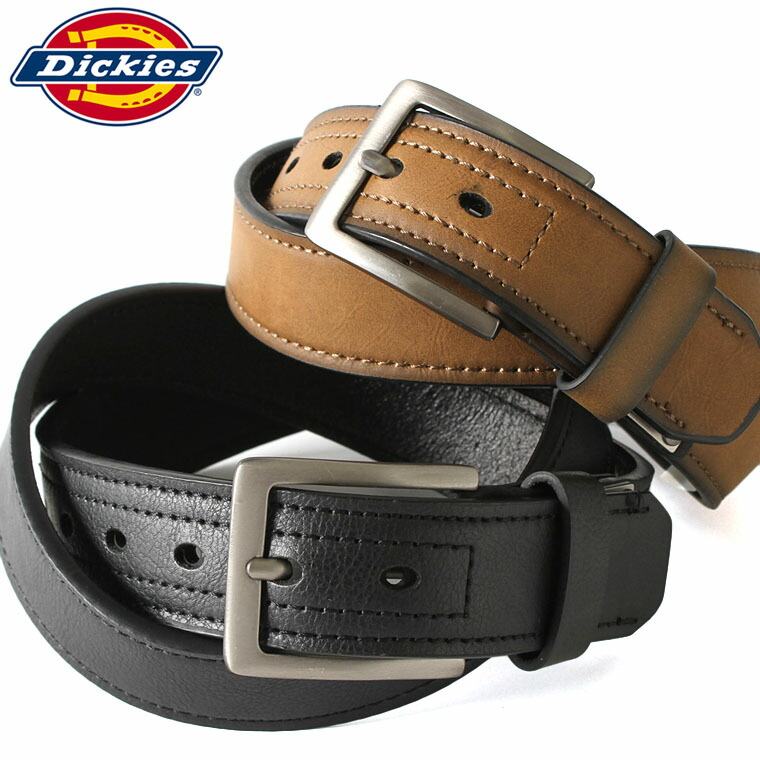 Dickies ディッキーズ ベルト メンズ 本革 カジュアル ディッキーズ Dickies ベルト メンズ 大きいサイズ ロング レザーベルト メンズ 本革 ベルト メンズ ブランド カジュアル 【W】