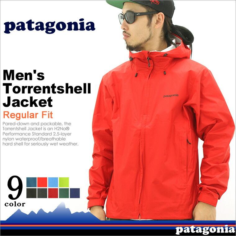 patagoniaパタゴニアトレントシェルジャケットメンズマウンテンパーカー