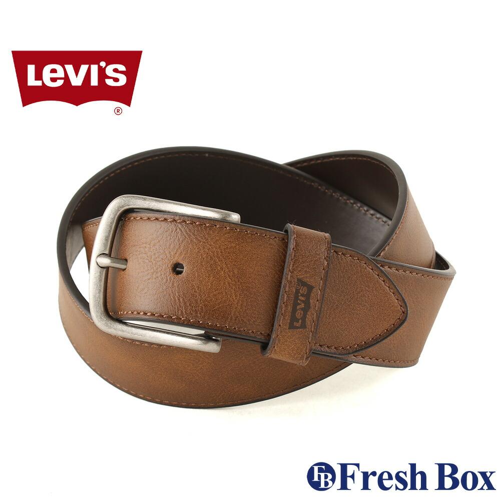 Levis リーバイス ベルト メンズ 本革 ブランド カジュアル 大きいサイズ [levis-11lv120024] (USAモデル)