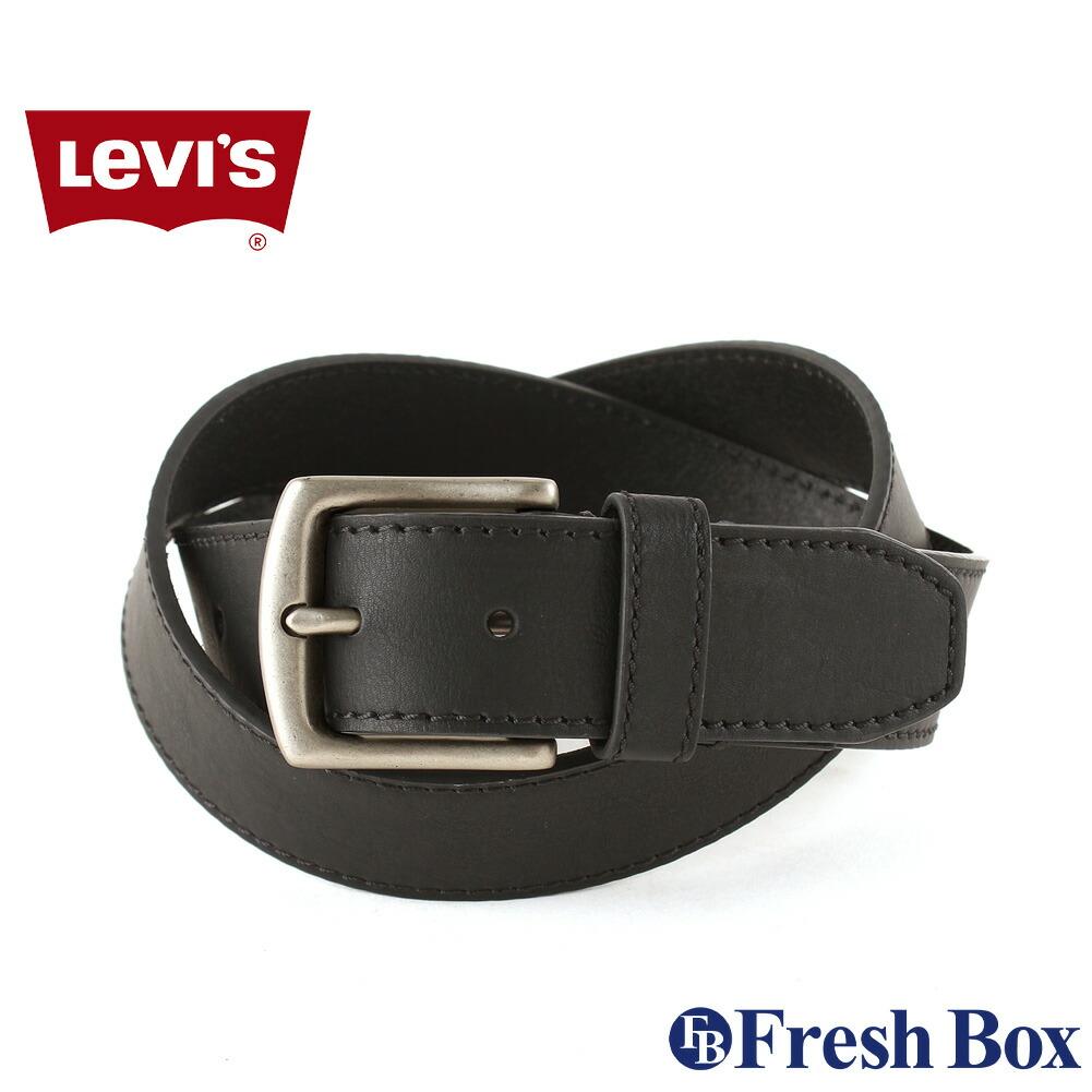 【送料無料】 Levis リーバイス ベルト メンズ 本革 ブランド カジュアル 大きいサイズ [levis-11lv220z01] (USAモデル)