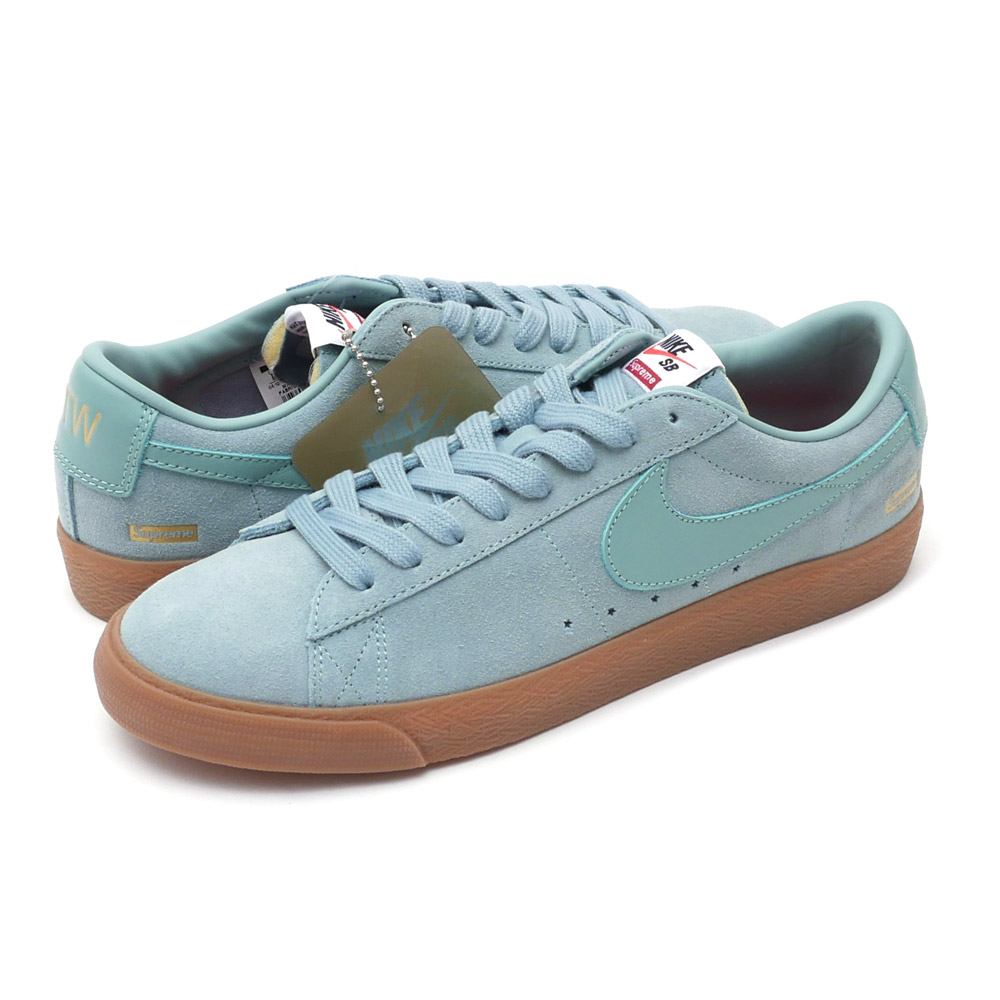 Nike Sb X シュプリーム Supreme Blazer Low Gt Qs Cannon Cannongum Med Brown 716890009 291002134284 Sneakers Shoes