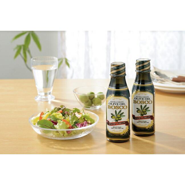 ボスコオリーブオイルと健康を考えた食用油を詰合せたギフト