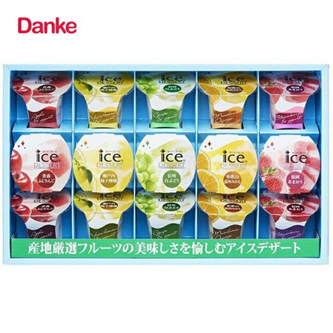 ダンケ 凍らせて食べるアイスデザート 15号
