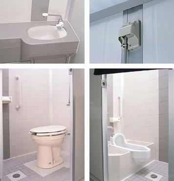 コムズトイレのデザイン